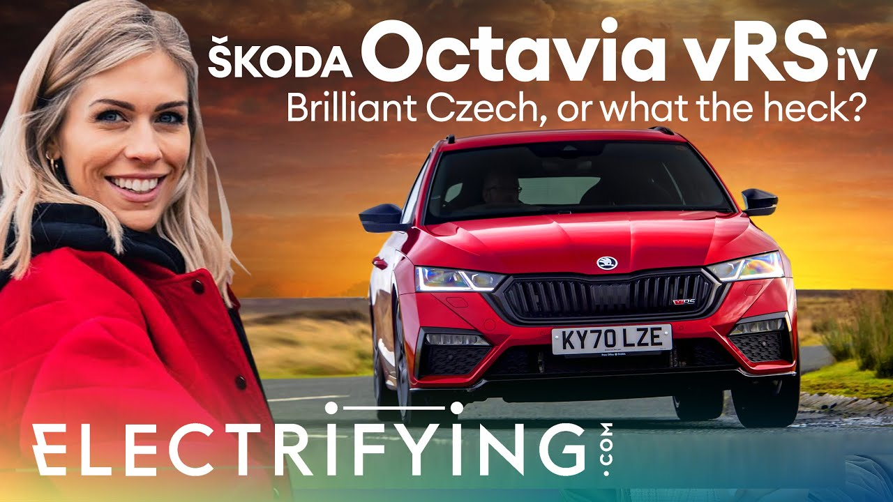 Skoda Octavia vRS iV Estate 2021 review – Brilliant Czech or what the heck? / Electrifying