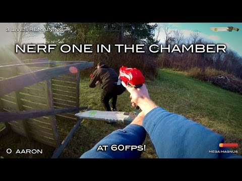 Thumbnail: Nerf meets Call of Duty: One in the Chamber | First Person at 60fps!