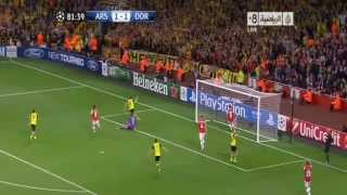 أهداف مباراة آرسنال 1-2 بروسيا دورتموند [22_10_2013] حفيظ دراجي [HD]