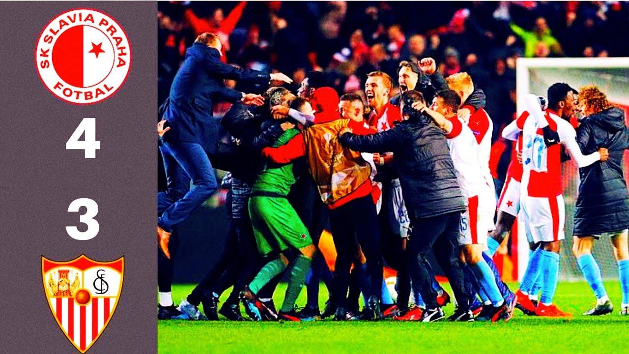 Slavia – Sevilla Image: Slavia Praha Vs Sevilla 4:3pp. Neskutečný Zápas