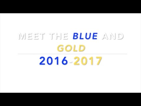 Meet the Blue and Gold 2016-2017