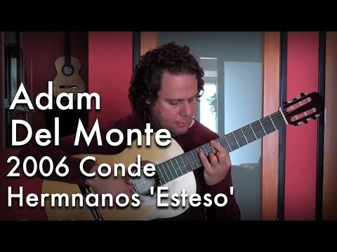 Adam Del Monte - Classical Tremolo Lesson: Classical Guitar at Guitar Salon International
