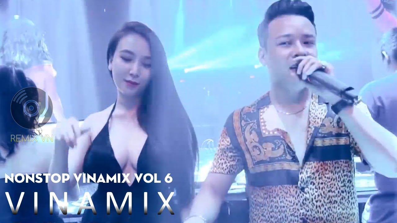 NONSTOP Vinamix VOL 7 - Nhạc Trẻ Remix Bước Qua Đời Nhau  - Nonstop Vinahouse Việt Mix