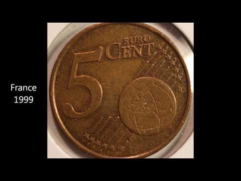 5 EURO Cent Coin Collection