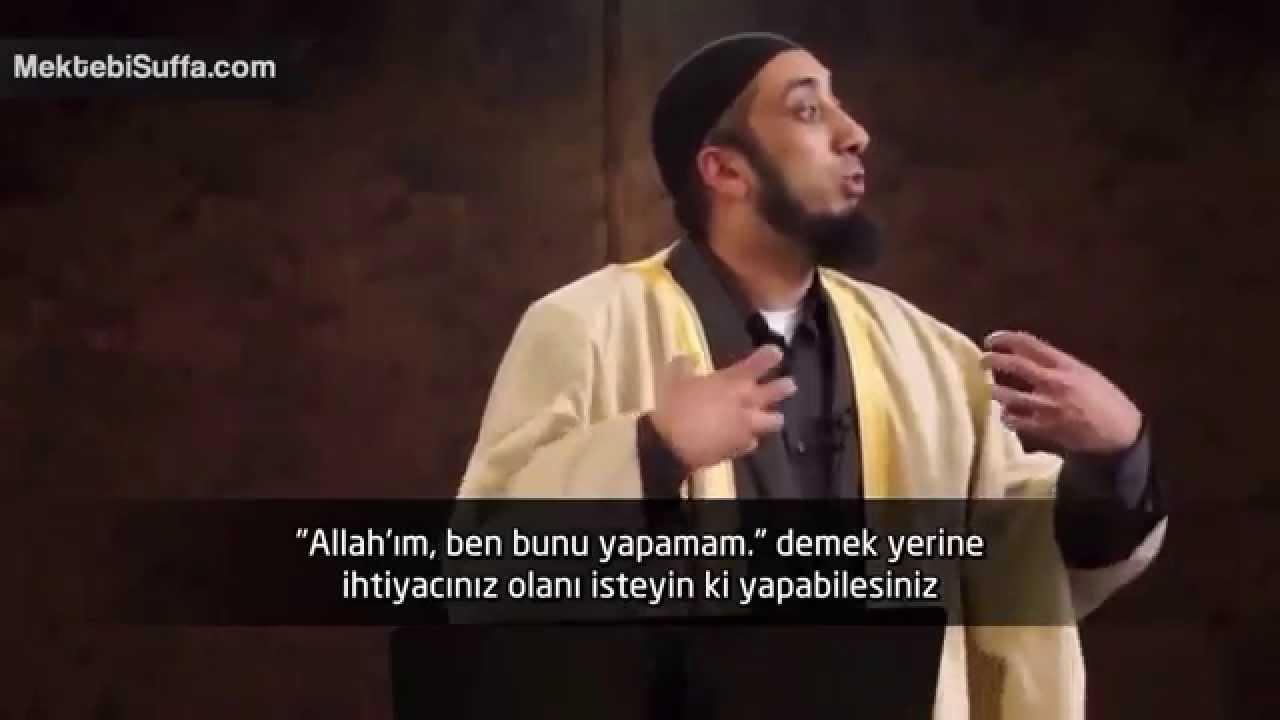 Başarı Yalnız Allah'tandır [Nouman Ali Khan] [Türkçe Altyazılı | Mekteb-i Suffa] [Türkçe Altyazılı]