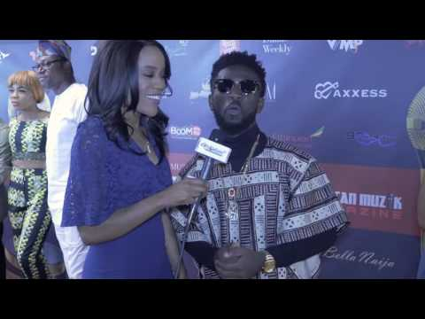 Afrodisiac TV Interview With Bisa Kdei @ The 2016 Afrimma Awards