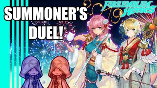 New Year's of Fire and Ice - Summoner's Duel! (50 PULLS) Fire Emblem Heroes