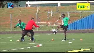 Éliminatoires CAN 2021 / 1er galop d'entraînement des Lions à Eswatini ( Lobamba)