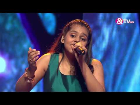 Shanmukha Priya - Surmayi Ankhiyon Mein - Liveshows - Episode 17 - The Voice India Kids