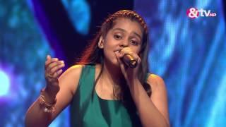 Shanmukha Priya - Surmayi Ankhiyon Mein - Liveshows - Episode 17 - The Voice India Kids