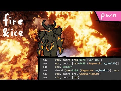 Exploiting an Integer Overflow (Fire and Ice) - Pwn Adventure 3