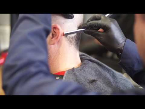 Straight Razor Shave The San Mateo Zoo Haircut Youtube