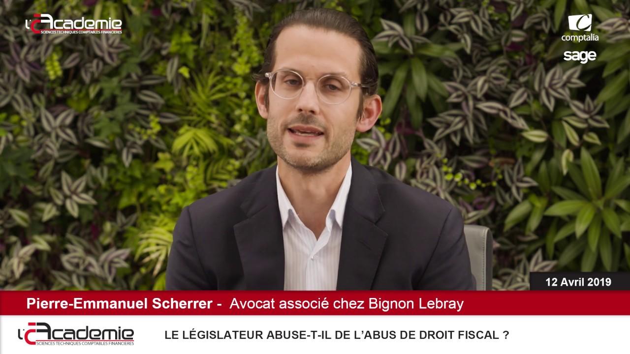 Les Entretiens de l'Académie : Pierre-Emmanuel Scherrer