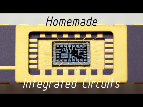 Homemade Silicon ICs / Computer Chips