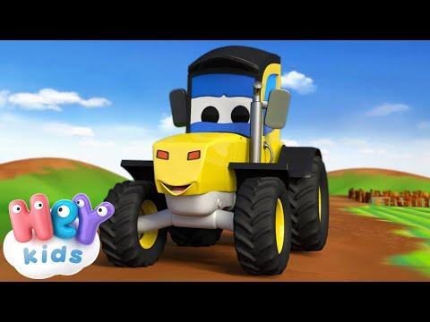 Мультфильм желтый трактор