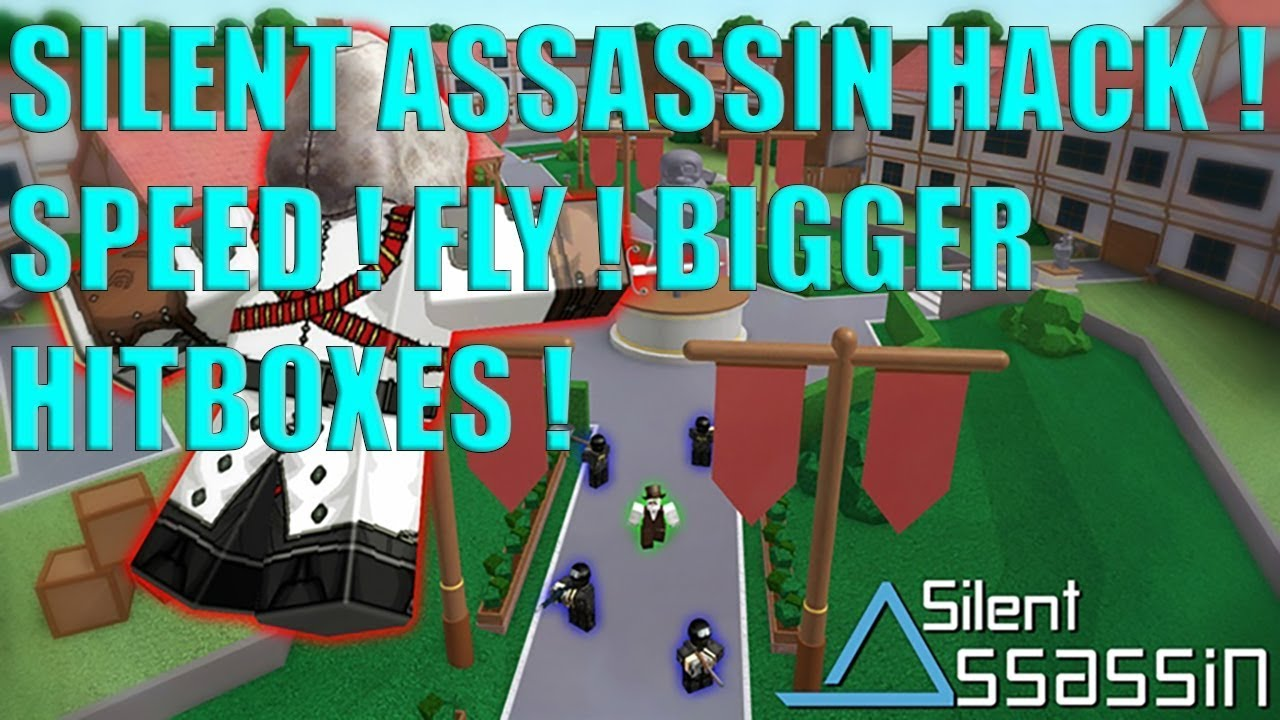 Roblox Hack For Silent Assassin Speed Kill All Fly Hitbox