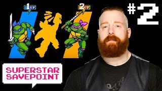 Turtles in Time w/ Sheamus Part 2: Shout out to Gary Anthony Williams — Superstar Savepoint