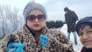 Patnitop hillstation in march vlog  /geetakinnu Patnitop vlogs/mata vaishno devi tour( darshan) vlog