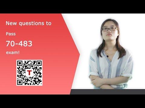 [Testpassport] Offer: Microsoft MCSD 70-483 Exam Dumps 70-483 Test Questions
