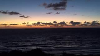 Good night sun: time lapse video