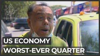 US Economy Has Worst-ever Quarter With Epic 32.9% Dive In Q2 GDP