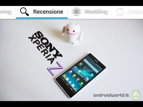 Sony Xperia Z, la recensione completa in italiano by AndroidWorld.it