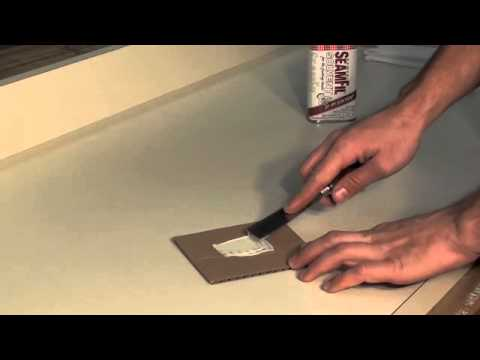 How to repair a deep scratch in your laminate countertop ...