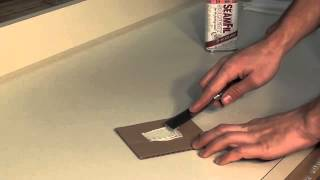 How to repair a deep scratch in your laminate countertop