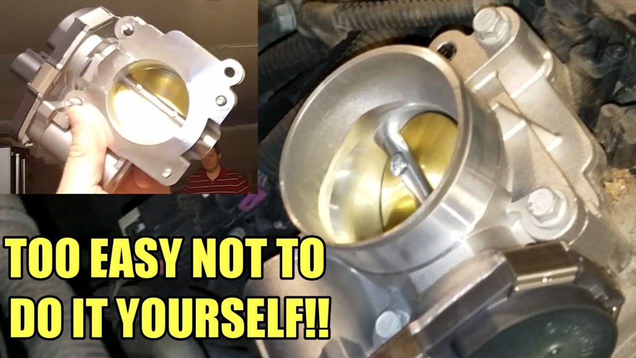 HOW TO CHANGE A THROTTLE BODY ON A 2005-2010 CHEVY COBALT FAST!!