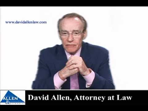 David Allen - What Happens to a Lawyer Who Lies on a Form Filed with the Court