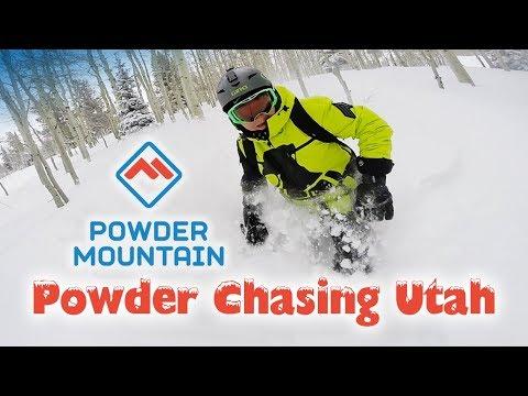 Powder Chasing Utah - Powder Mountain Edition