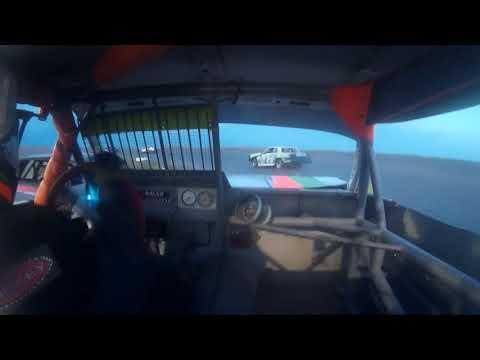 6-6-18 I-76 Speedway IMCA Stock Car Main - in car cam