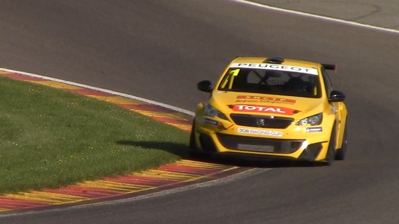 Peugeot 308 Racing Cup Spa Francorchamps Spa Euro Race 2018