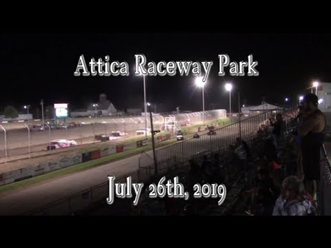 Awesome Super Late Model Race at Attica Raceway Park