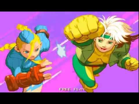 Arcade Longplay [771] X-Men VS Street Fighter