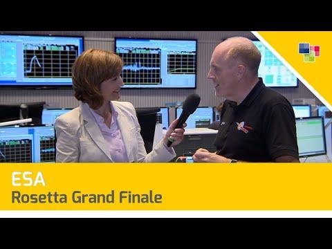 ESA - Rosetta Grand Finale: Rosetta's final hour
