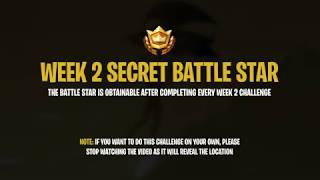 Fortnite Battle Royale: Week 2 Secret Battle Star