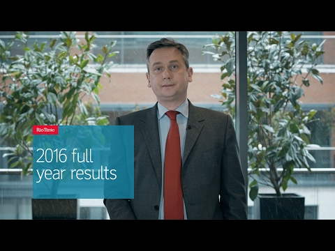 Rio Tinto 2016 full year results