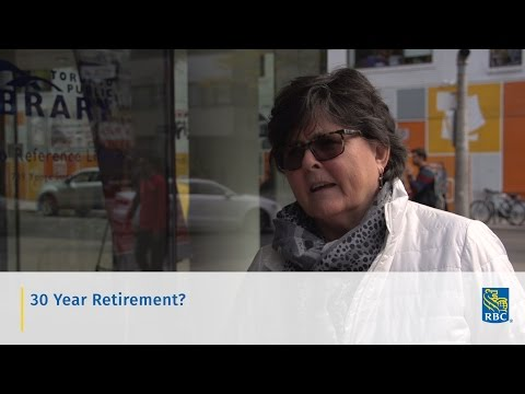 """Video: One in a series of """"Retirement: Real Talk"""" videos posted on RBC's comprehensive new Retirement Hub, www.rbc.com/next30"""