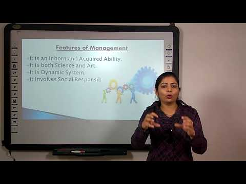 Management part 1 of 4: Process & Functions in Hindi under E-Learning Program