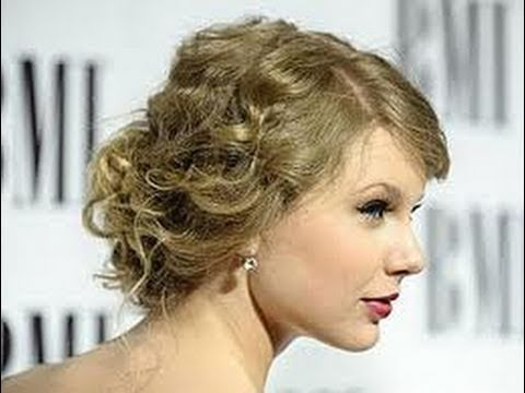 Formal Bridal Updo Inspired By Taylor Swift