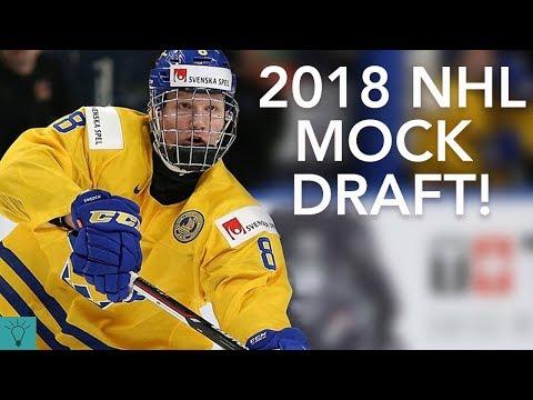 2018 NHL Mock Draft and Prospect Rankings!