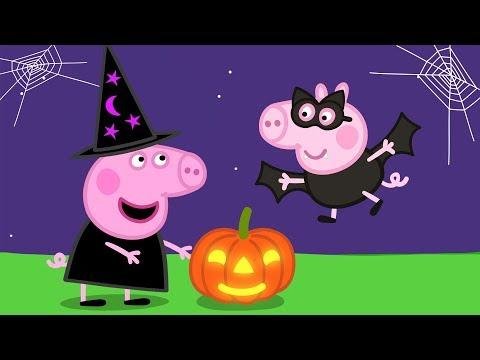 Peppa Pig en Español Episodios completos 🎃🦇 Feliz Halloween! 🦇🎃 Pepa la cerdita