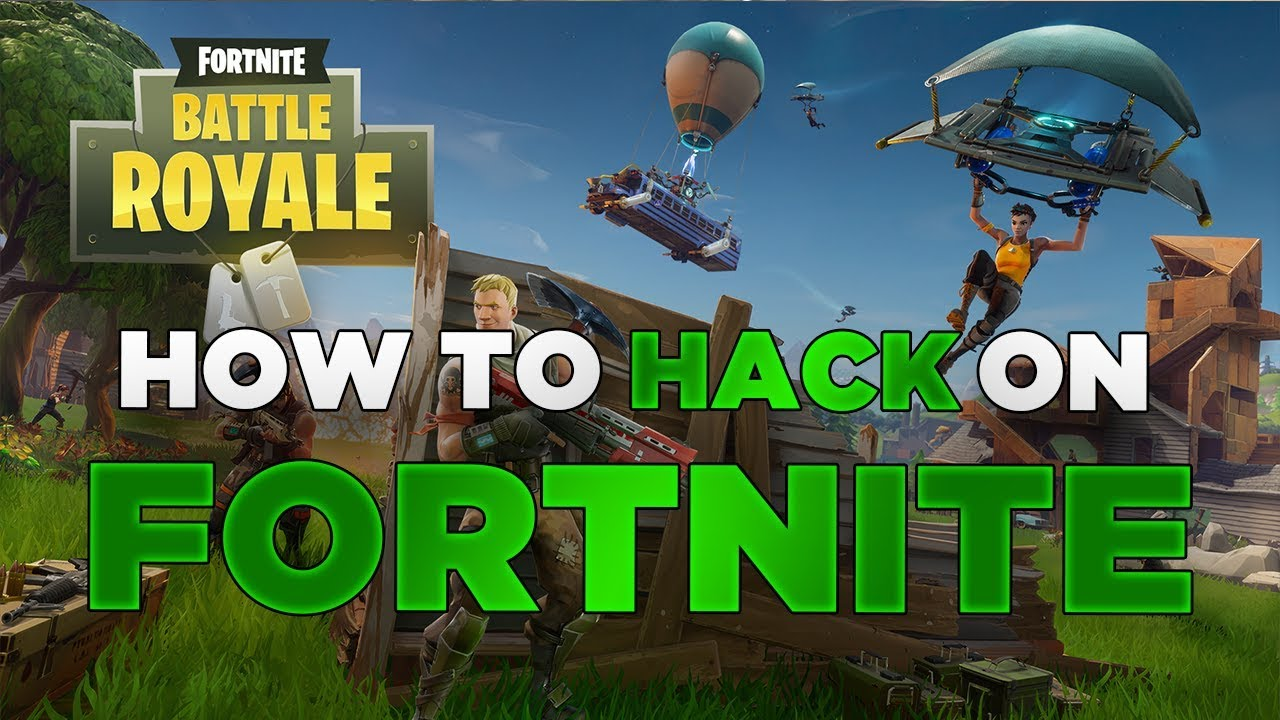How to HACK on Fortnite - YouTube