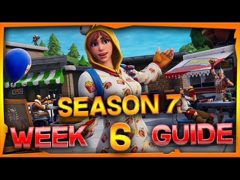 Fortnite Season 7 Week 6 Challenges Guide And Locations