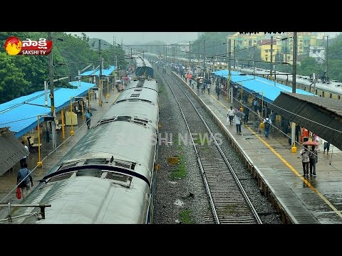 Cyclone Vardah || List Of Trains Cancelled From Chennai
