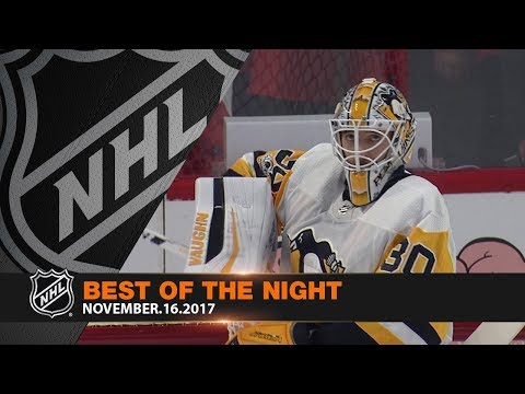 Murray's sprawling blocker save highlights the best of the night