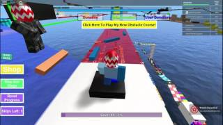 Lets Play ROBLOX Part 12 Mega Fun Obby 508-529