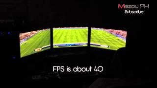 FIFA 14 - Res 5760x1080 - Radeon HD 7950 - Eyefinity