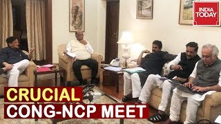 Crucial Congress-NCP Meeting Over Maharashtra Govt Formation